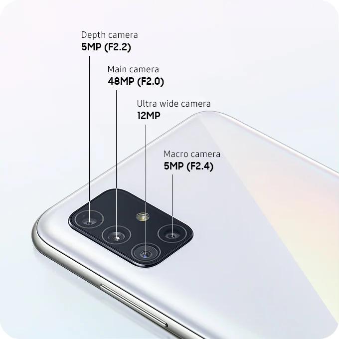 Samsung Galaxy A51 128GB 6GB RAM Dual Sim