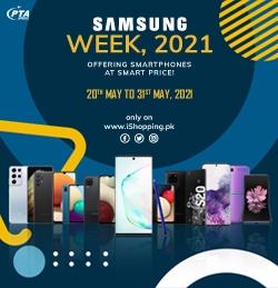 Samsung Week 2021 at iShopping.pk