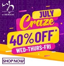 July Craze by WB Hemani at iShopping.pk